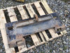 (Shrewsbury, MA) Pintle Hitch Attachment for skid steer NOTE: This unit is being sold AS IS/WHERE IS