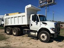 2011 International 7500 T/A Dump Truck runs