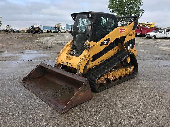 (Kansas City, MO) 2011 Caterpillar 289C Tracked Skid Steer Loader Runs, drives and operates