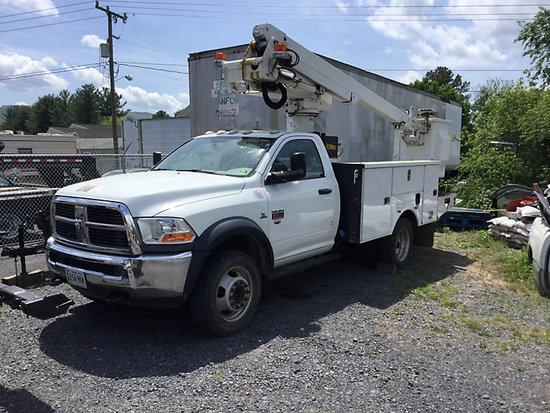 (Edinburg, VA) Altec AT235, Articulating & Telescopic Non-Insulated Bucket Truck mounted behind cab
