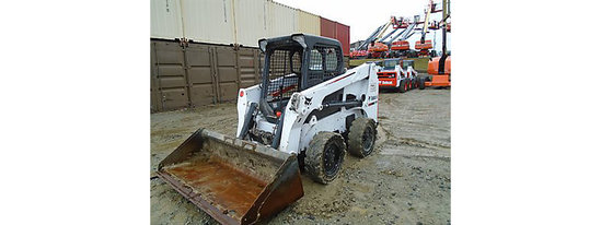 (Hamilton, OH) 2015 Bobcat S630 Rubber Tired Skid Steer Loader runs, drives, operates