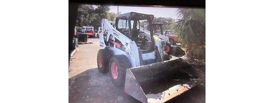 (Tampa, FL) 2015 Bobcat S650 Rubber Tired Skid Steer Loader runs, drives, operates