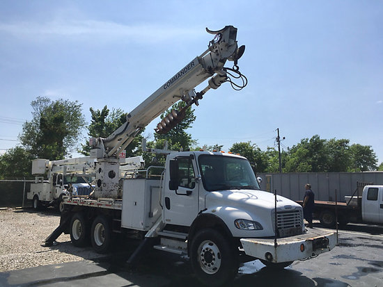 (Owensboro, KY) Telelect Commander C4047, Digger Derrick rear mounted on 2005 Freightliner M2 106 T/
