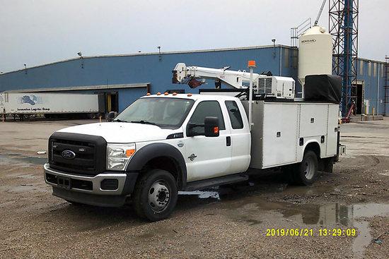 (Wathena, KS) 2014 Ford Extended-Cab Mechanics Service Truck Runs, drives and operates