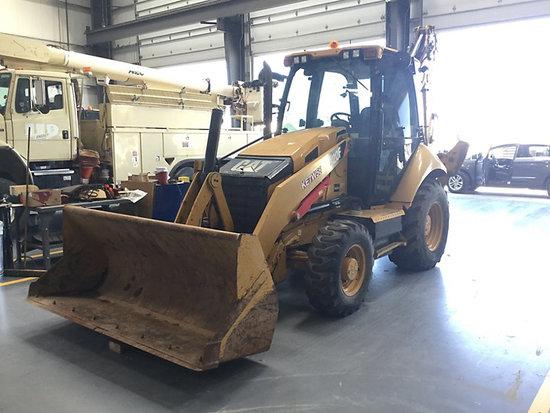 (Imperial, CA) 2013 Caterpillar 420F 4x4 Tractor Loader Backhoe Runs and operates, no digging bucket
