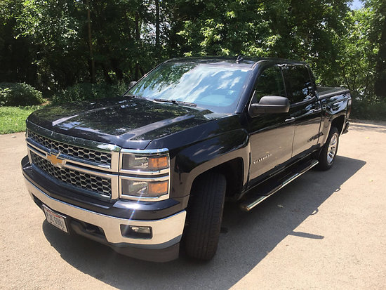 (Columbus, OH) 2014 Chevrolet K1500 4x4 Crew-Cab Pickup Truck Starts, runs, and drives