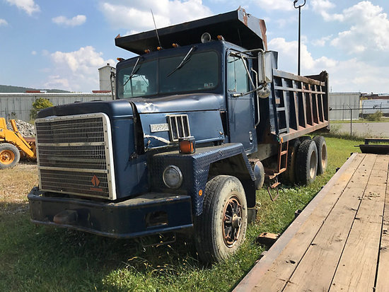 1992 International F5070 T/A Dump Truck not running, condition unknown