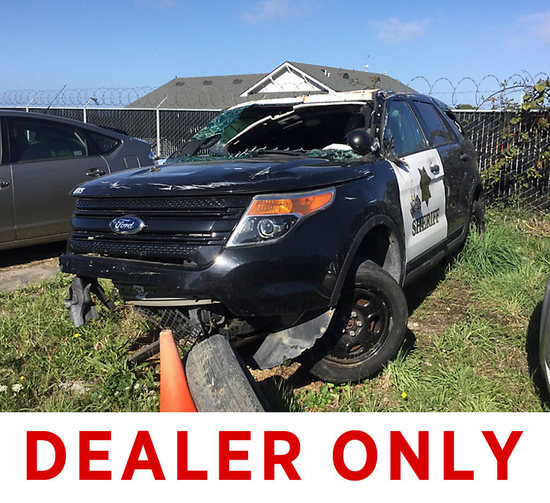 2013 Ford Explorer 4x4 4-Door Sport Utility Vehicle, Owner states mileage approx.40,000 Wrecked, air