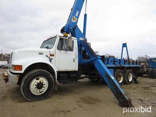 Terex-RO TC2851, 14-Ton Hydraulic Crane s/n 4640799012, with 61 ft sheave h