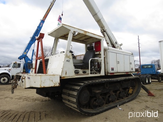 HiRanger 6H-65PBI, 70 ft, Bucket s/n 18735332001 (1987 UPPER), with two man