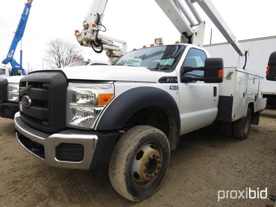 ETI ETC35S-NT, 40 ft, Articulating & Telescopic Non-Insulated Bucket Truck