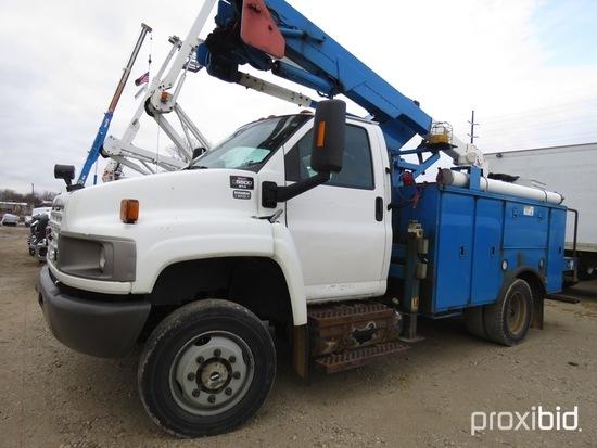HiRanger TL38, 43 ft, Articulating & Telescopic Bucket Truck s/n 2090639803