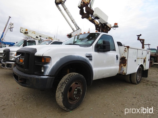 Altec AT200-A, 35 ft, Telescopic Non-Insulated Bucket Truck s/n 0709BV16247