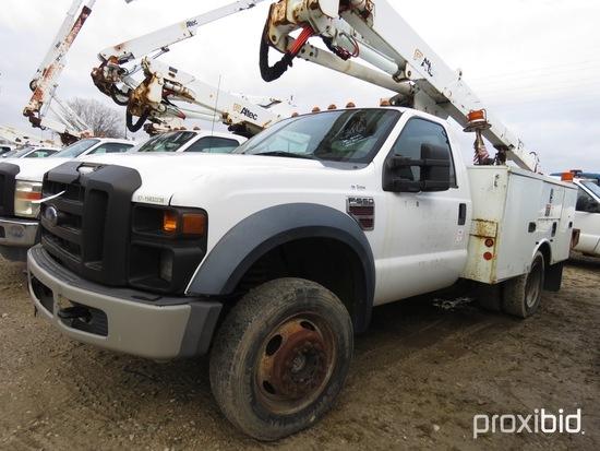 Altec AT37G, 42 ft, Articulating & Telescopic Bucket Truck s/n 0110DE11568,