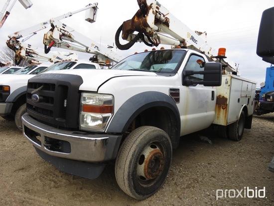 Altec AT37G, 42 ft, Articulating & Telescopic Bucket Truck s/n 1007DE8933,