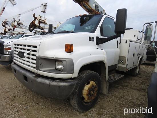 Versalift TEL29, 34 ft, Telescopic Non-Insulated Bucket Truck s/n AG330231,