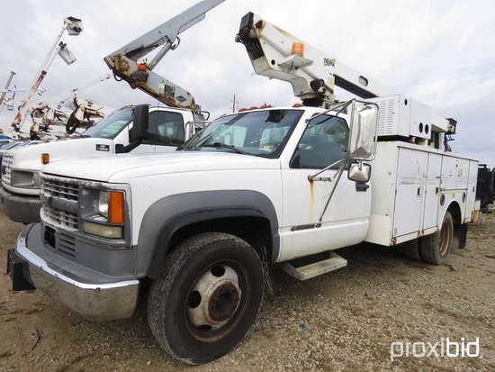 Telsta A28D, 33 ft, Telescopic Non-Insulated Bucket Truck s/n 01770422, wit