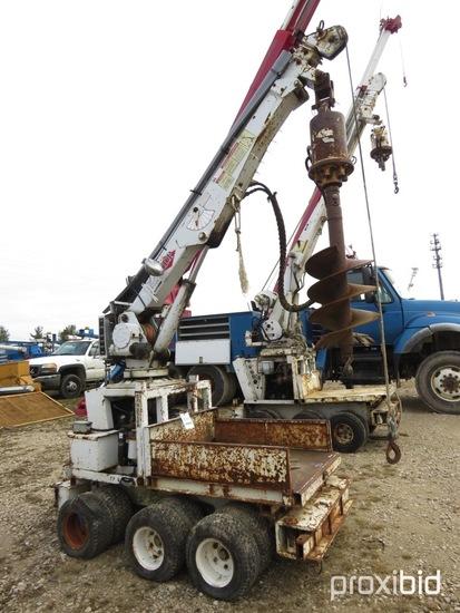 SDP EZ-Hauler 2500, 2,500 Lb Back Yard Digger Derrick s/n 10193889343, with
