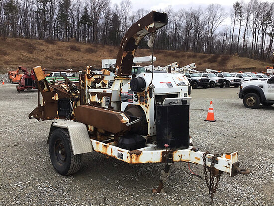 "(Shrewsbury, MA) 2008 Altec Environmental Products CFD1217 Chipper (12"" Drum), trailer mtd runs, bod"