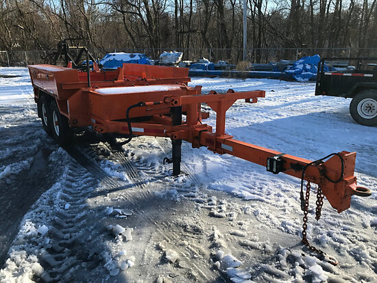 (Harrisburg, PA) 2008 Brooks Brothers PT92-6KXL T/A Extendable Pole/Material Trailer