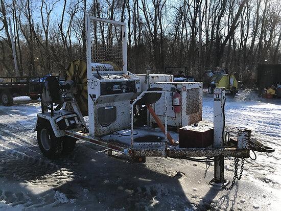 (Harrisburg, PA) 2000 Sherman+Reilly PT-3366-T Single-Drum Puller/Tensioner, trailer mtd runs, opera
