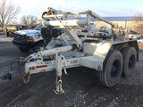 (Des Moines, IA) 1994 Sauber 1530 T/A Hydraulic Self-Loading Reel Trailer PIN IS BROKEN AND ARM IS B
