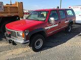 (Allentown, PA) 1999 GMC K2500 4x4 Suburban 4-Door Sport Utility Vehicle runs, drives, power brake b