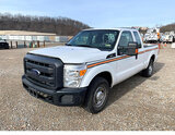 (Smock, PA) 2012 Ford F250 Extended-Cab Pickup Truck Starts, runs rough, knocks, moves, body damage,