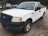 (Ocala, FL) 2008 Ford F150 Pickup Truck Starts, Runs & Drives