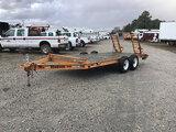 (Chester, VA) 2011 Hudson HSE16 T/A Tagalong Equipment Trailer, 10,000lb GVWR