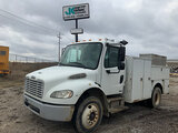 (Wright City, MO) 2007 Freightliner M2 106 Air Compressor Utility Truck runs, drives, body and rust