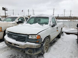 (East Chicago, IN) 2005 GMC C1500 Pickup Truck runs & drives, bad alternator, odometer not operating