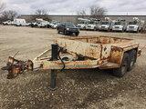 (Des Moines, IA) 1994 Kiefer ICP T/A Material Trailer, 12,000 lb. GVWR