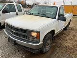 (Joplin, MO) 1997 Chevrolet K1500 4x4 Pickup Truck Runs and drives, body damage