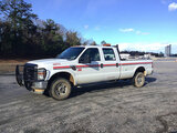(Chester, VA) 2008 Ford F350 4x4 Crew-Cab Pickup Truck runs and drives, check engine light on