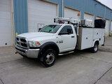 (Saint Joseph, MO) 2016 Dodge-RAM D5500HD Mechanics Service Truck runs, drives, minor body damage, s