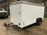 (Neenah, WI) 1996 Wells Cargo Enclosed Cargo Trailer body damage (see pics