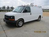 (Houston, TX) 2006 Chevrolet G1500 Cargo Van Starts and runs, fuel problem. drive train operates, mi