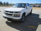 (Houston, TX) 2012 Chevrolet Colorado Extended-Cab Pickup Truck runs, drives, minor body damage
