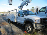 (Shelby, NC) Altec AT235, Articulating & Telescopic Non-Insulated Bucket Truck mounted behind cab on