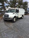 (Frederick, MD) 2007 International 4300 Chipper Dump Truck runs, drives, will not stay running, mino