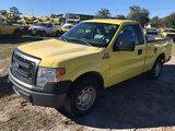 (Ocala, FL) 2014 Ford F150 Pickup Truck Starts, Runs & Drives