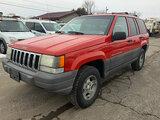 (South Beloit, IL) 1997 Jeep Grand Cherokee Laredo 4x4 4-Door Sport Utility Vehicle runs and drives,