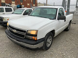 (Joplin, MO) 2007 Chevrolet C1500 Pickup Truck Runs and drives, check engine light on, missing tail