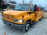 (Joplin, MO) 2005 GMC C4500 Mechanics Service Truck Runs and drives, minor body damage