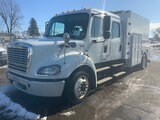 (South Beloit, IL) 2013 Freightliner M2 112 Crew-Cab Enclosed Utility Truck does not start (out of f