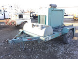 (Des Moines, IA) 1993 Evans S/A Support Trailer Runs, operates