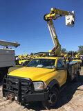 (Ocala, FL) Altec AT37G, Articulating & Telescopic Bucket Truck mounted behind cab on 2012 Dodge/Ram