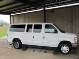 (Shelby, NC) 2014 Ford E350 Passenger Van runs, drives, minor body damage