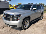 (Ocala, FL) 2016 Chevrolet Tahoe LS 4x4 4-Door Sport Utility Vehicle Starts, Runs & Drives; Very Cle